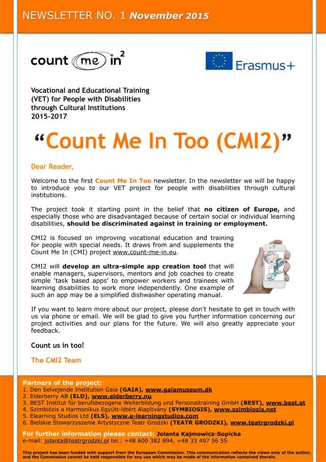 CMI2 Newsletter 26_11_2015